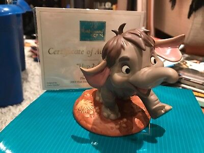 WDCC Walt Disney Jungle Book Hup 2-3-4 Junior Elephant Boxed Figure Porcelain