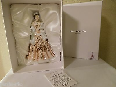 New Royal Doulton Young Queens Figurine Queen Elizabeth II - Limited Ed. HN5706