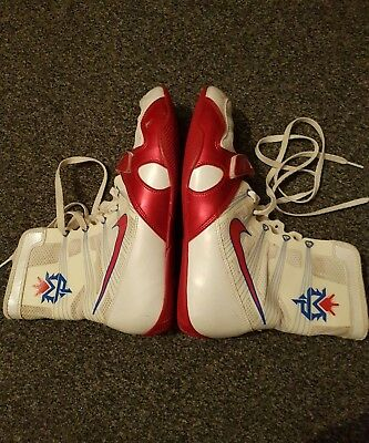 "Nike Free Hyper KO Boxing Boots ""MANNY PACQUIAO"" LIMITED EDITION!! UK SIZE 9"