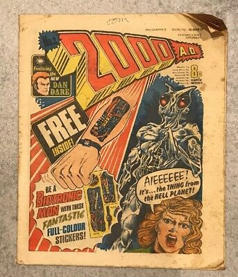 2000ad prog #2 No stickers