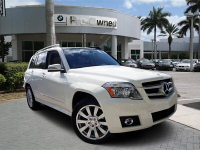 2012 Mercedes-Benz GLK-Class  2012 SUV Used Gas V6 3.5L/213 7-Speed Automatic RWD White