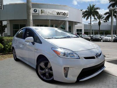 2015 Toyota Prius  2015 Hatchback Used Gas/Electric I-4 1.8 L/110 1-Speed CVT w/OD Hybrid FWD