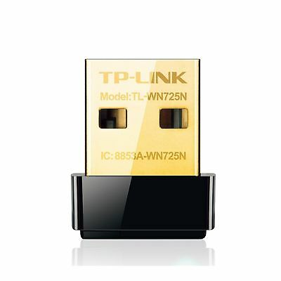 TP-Link TL-WN725N N150 150Mbps 2.4GHz USB Wireless WiFi Network Adapter Dongl