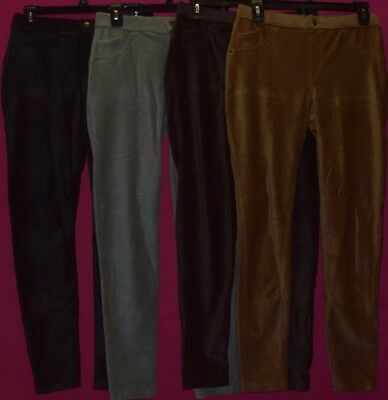 Hue Women's Corduroy Leggings Jeans U18039 M 8 10 L 12 14 XL 16 18 New