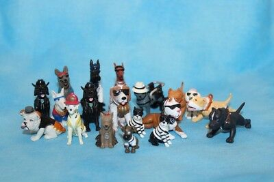 Lot of Lil' Homies Hood Hounds Pups Pit Bull and More GI Joe 1:24 scale