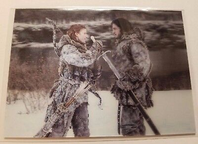 2017 HBO Game Of Thrones Valyrian Steel Lenticular L11 Jon Snow and Ygritte