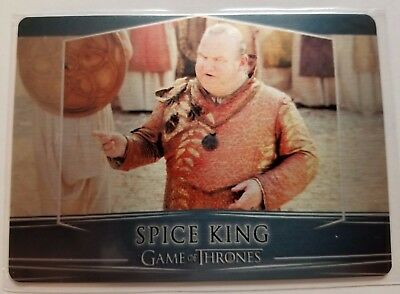 2017 Game Of Thrones Valyrian Steel Spice King Card #100