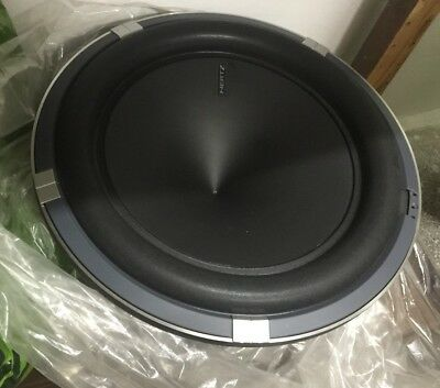 "Subwoofer Hertz ML3000 Top Gamma Sq Sound Quality - SPL 1500W RMS 12"" 30cm"