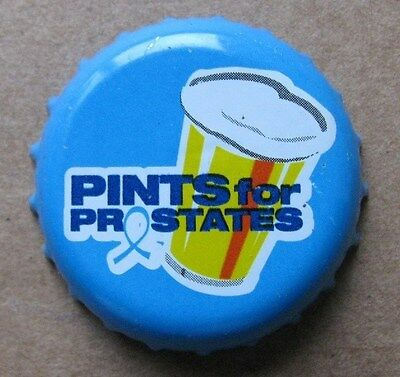 Pints For Pro States Used Micro Craft Beer Bottle Cap