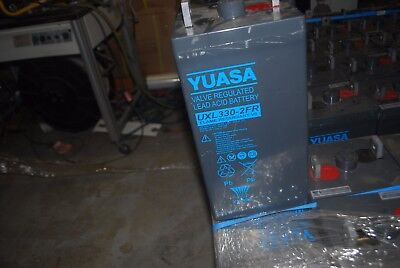 YUASA Battery Batteries UXL330-2FR Solar Valve Regulated Lead Acid