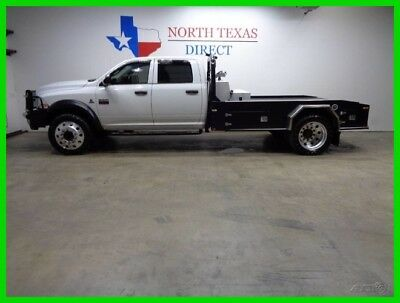 2011 Dodge Ram 5500 SLT 4WD Flatbed 22in Alocoa Wheels 109 gallon fuel 2011 SLT 4WD Flatbed 22in Alocoa Wheels 109 gallon fuel Used Turbo 6.7L I6 24V