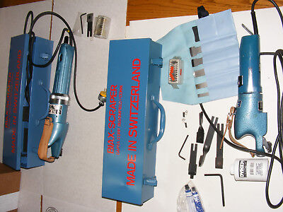 Biax Power Scraper Model 8E and Flaker Model 10E with Extras!