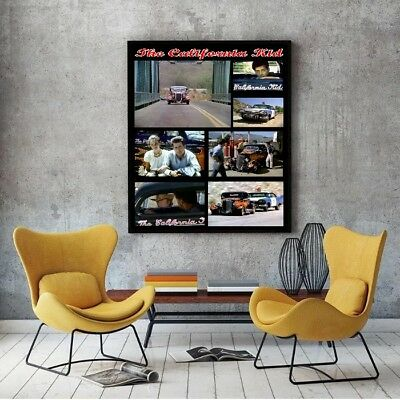 "Large Size 24""x32"" California Kid Poster - 1934 Hot Rod Coupe"