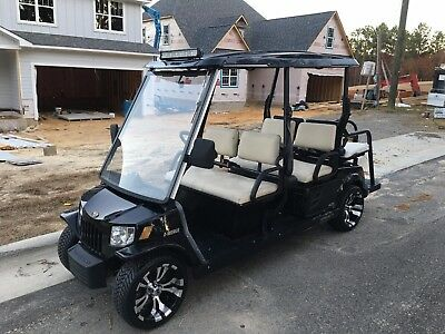 2008 Tomberlin Emerge Street Legal Limo Golf Cart - LSV 6 seat