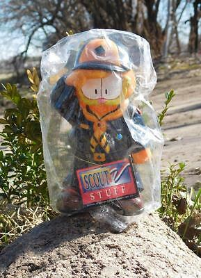 New 1996 Cub/Boy Scout Plastic Garfield Money Bank with Stopper by Paws