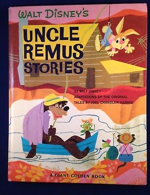 Walt Disney's Uncle Remus Stories - A Giant Golden Book 1966 - Song of the South