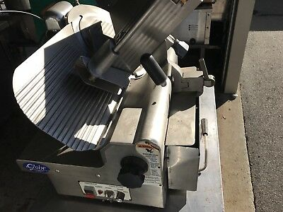 Globe meat and cheese Automatic Slicer- Series 3750 - 115v single phase