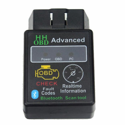 1Pcs ELM327 Bluetooth OBD2 V2.1 Car&Auto Diagnostic Interface Scanner Android