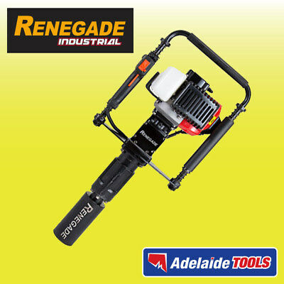 Renegade Industrial 2 Stroke Star Picket Post Driver - 33cc Engine