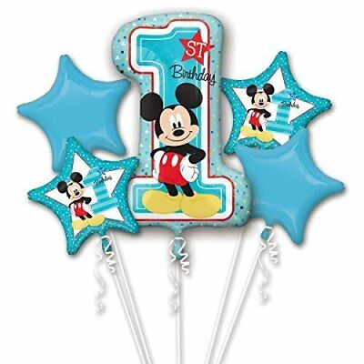 """Amscan International 8.722.616,5cm Mickey Mouse 1st Birthday """"foil (t5s)"""