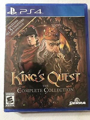 King's Quest The Complete Collection PS4 Playstation 4 NEW