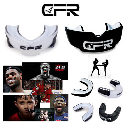 CFR Boxing Air Gel Gum Shield Mouth Guard MMA Adult/Child Rugby Teeth Protection