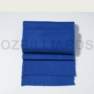 6x Thick Blue Double-sided Wool Pool Table Felt Strips for Cushion Free Post