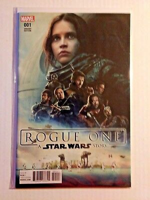 Marvel Star Wars Rogue One #1 Wal-Mart Variant Cover