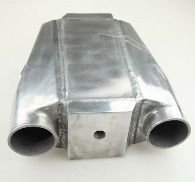"""3 """" 76mm Inlet Outlet 300x320x115mm Air-Water Intercooler Pressure Tested AU"""