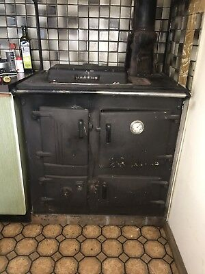 Antique Slow Combustion Wood Stove Oven