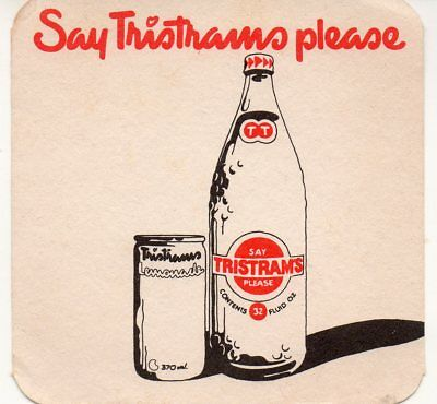 Old Say Tristrams Please Drink Coaster