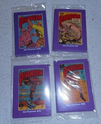 The Phantom Trading Cards  (Lots of 4 Sets)