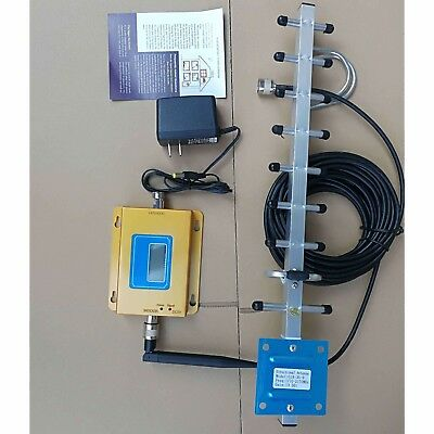 Verizon 4G LTE 65dB 700MHz Cell Phone Signal Booster Repeater Band13+ Antennas