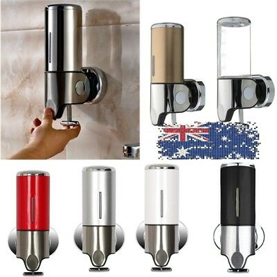 500ml Bathroom Kitchen Shower Wall Mount Soap Dispenser Bottle Shampoo Gel Pump