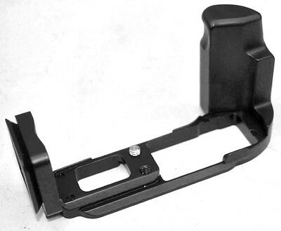 Black Metal Quick Release L-Plate Bracket Hand Grip for Olympus OMD E-M10II