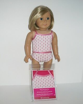 "American Girl Tank Top/ Briefs - New - For 18"" Dolls"