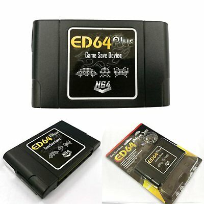 PAL/NTSC ED64 Plus Game Save Adapter 8GB SD Card USA-JAPAN-EUROPE System Games