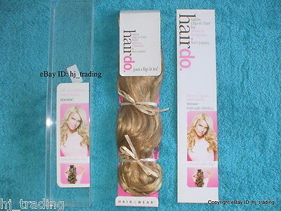 "Authentic Jessica Simpson 23"" Wavy Clip-in Synthetic Hairdo Extension's RRP £95"