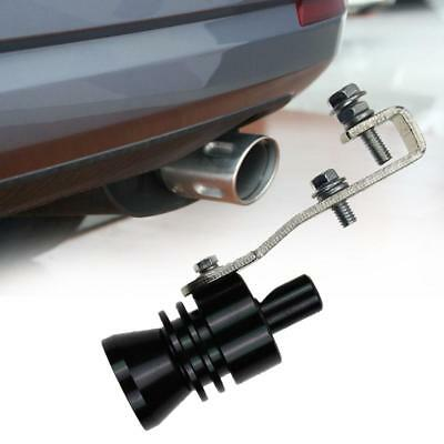 Car Style Exhaust Pipe Blowoff Valve Simulator Turbo Sound Whistle Muffler L KS