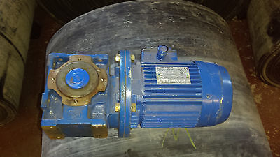 ROSSI GEARBOX AND MOTOR 230v and 400v New ex-stock