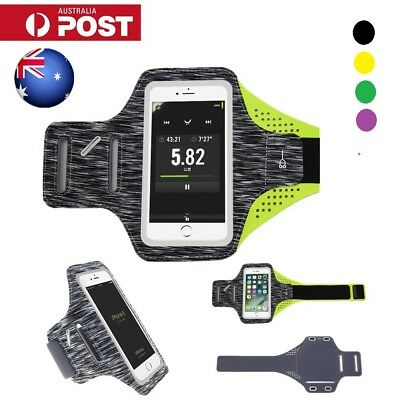 AU Sports Armbands Ultra Slim Running Case Phone Holder for iPhone 6/7/8 Plus