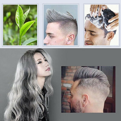 Unisex DIY Hair Color Cera Mud Dye Cream Modelado Temporal 7 Colores mofajang WL
