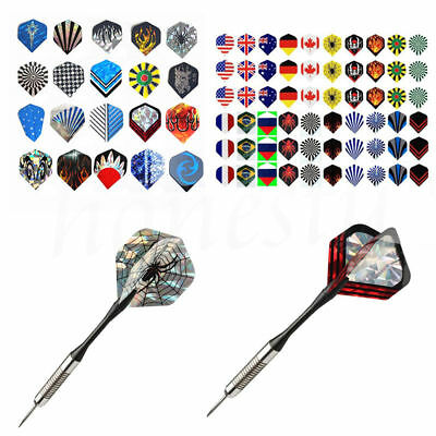 10pcs Professional Popular Pattern Nice Darts Tail Flights Wing Mixed Style