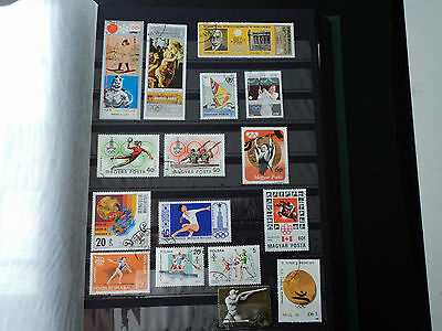 Olympics issue mixture countries - Mint Never Hinged