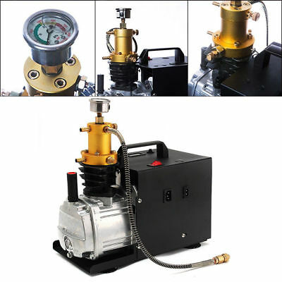 4500PSI 30mpa 300bar pcp Electric pump air compressor for gas fiGS two Stage