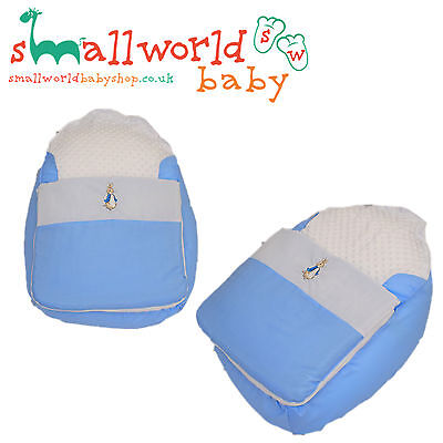 Personalised Peter Rabbit Baby Bean Bag Sleep Pod (NEXT DAY DISPATCH)