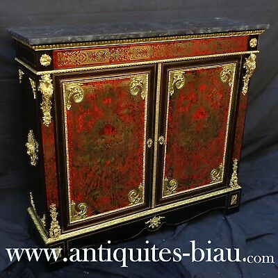 French Furniture LXIV in Boulle marquetry 19th  Napoléon III period - perfect