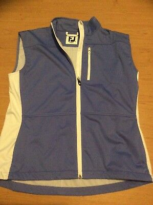 Golf Footjoy ladies windbreaker vest size large new with out tags