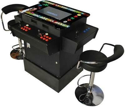 """NEW 22"""" SCREEN 3 Sided Arcade Machine Tabletop Upright Cocktail Video 1162 Games"""