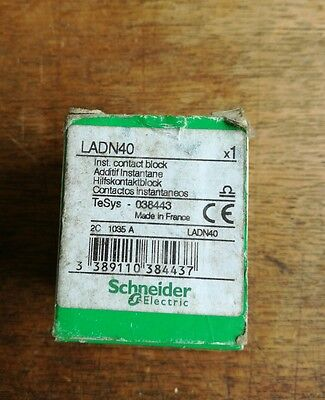Schneider electric ladn40 contact block